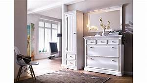 Garderobe Vintage Weiß : garderobenset 5 opus garderobe kiefer massiv wei vintage ~ Sanjose-hotels-ca.com Haus und Dekorationen