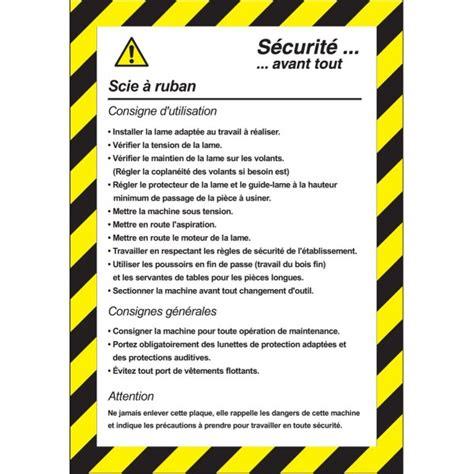 malette de bureau consigne de sécurité scie à ruban stocksignes