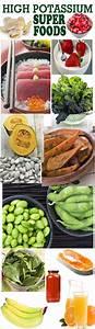 High Potassium Foods Chart 36 Best High Potassium Foods Images On Pinterest Healthy