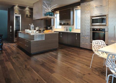 { Wood Floor Inspiration }  Modern  Kitchen