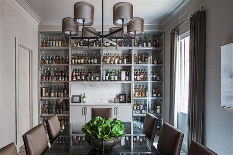 dining room built  cabinets design ideas