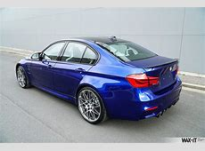 BMW F80 M3 Individual San Marino Blau Metallic Power