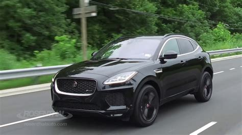jaguar  pace test drive review youtube