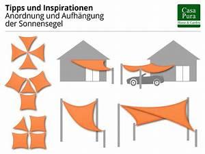 Sonnensegel Rechteckig Mit ösen : wasserabweisendes sonnensegel rechteck ~ Sanjose-hotels-ca.com Haus und Dekorationen