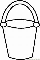 Shovel Coloring Bucket Printable Getcoloringpages Sand sketch template
