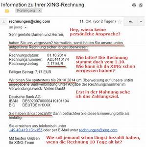 Xing Rechnung : neue xing anzeigen ein absoluter flop wifimaku update ~ Themetempest.com Abrechnung