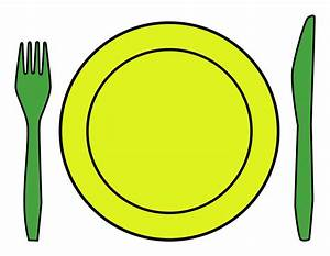 Clipart - Dinner place setting