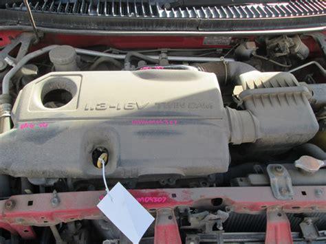 Daihatsu Sirion I Gtvi 1.3i -a- Red. Daihatsu Spare Parts