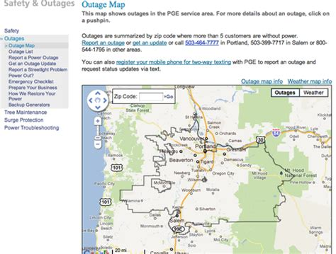 energy power outages infodisasters