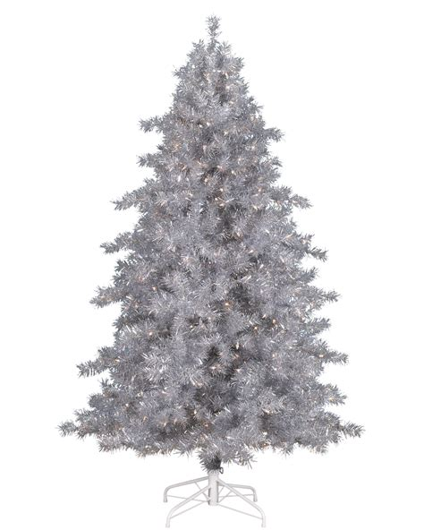 christmas tree and silver tinkerbell silver christmas tree treetopia uk