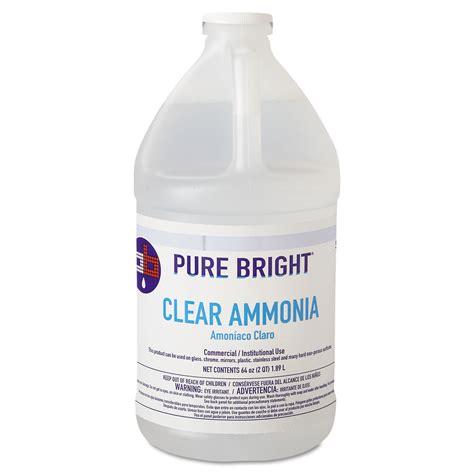 ammonia cleaning clear ammonia by pure bright 174 kik19703575033 ontimesupplies com