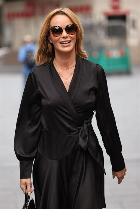 Please note that this page is run and maintained. Amanda Holden in Black Silky Dress in London 09/23/2020 • CelebMafia