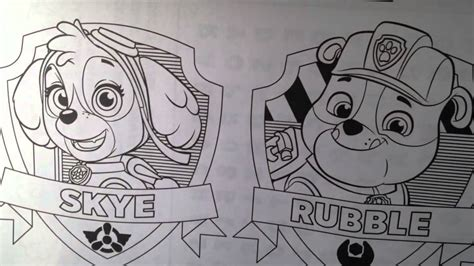 paw patrol nickelodeon giant coloring book activity