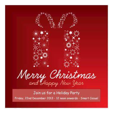 diy printable christmas invitations templates