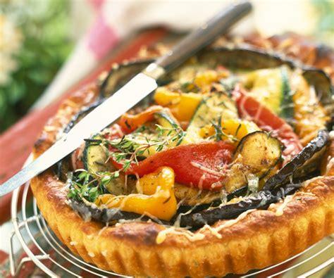 recette gourmande tarte aux légumes d été