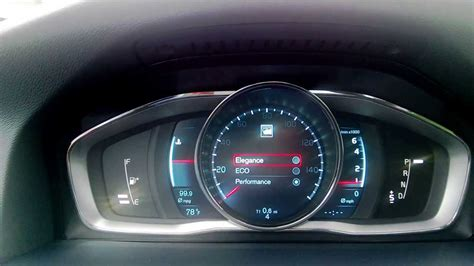 volvo   instrument panel youtube