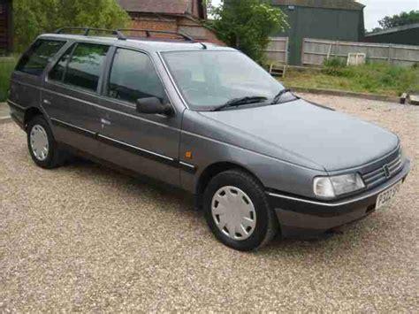 Peugeot 405 For Sale by Peugeot 1996 405 Lx Estate 1 9 Turbo Diesel Car For Sale