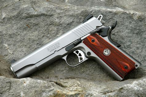 Gun Review Ruger Sr1911  The Truth About Guns