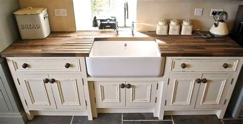 wooden  standing kitchen sink  standing