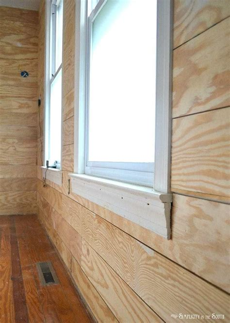 Plywood For Shiplap by Shiplap Walls Using Plywood 5 Reasons To Use Exterior Cdx