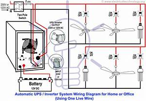 Microtek Inverter Wiring Diagram Inverter Connection To