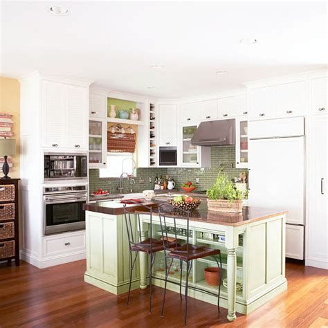 tiny kitchen makeovers small kitchen remodeling better homes and gardens bhg 2848