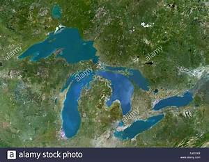 Great Lakes Map Stock Photos & Great Lakes Map Stock ...