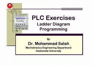 Pdf  Plc Exercises Ladder Diagram Programming