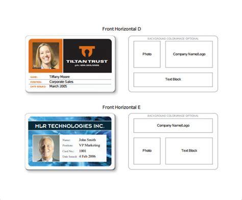 id card template    psd  word