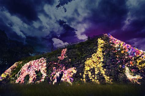 Team Lab Light Festival in Fukuoka Castle Ruins   Fukuoka Now
