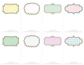 sheek shindigs pretty printable place cards