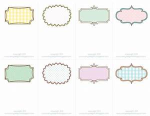 fine cute label templates festooning example resume and With sd card label template