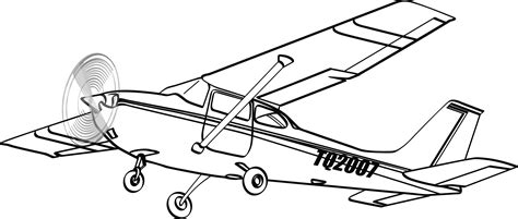 cessna 172 templates cessna 172 coloring pages