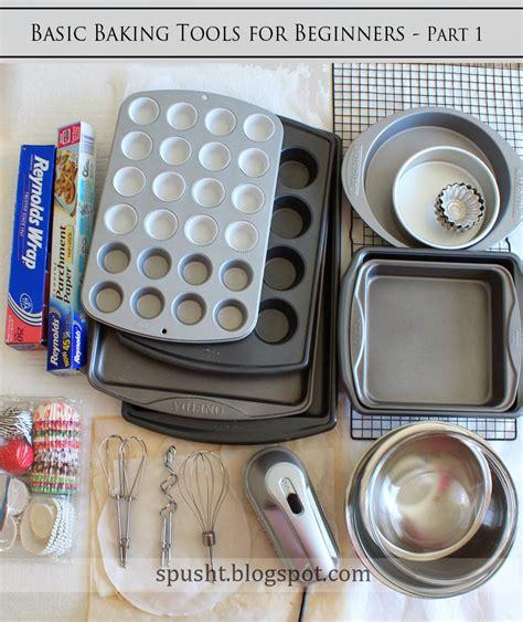 spusht basic bakeware   beginners baking tools