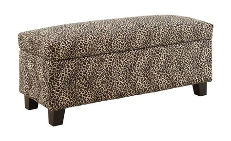 Animal Print Benches by Leopard Print Furniture