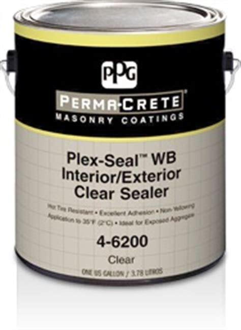 perma crete plex seal wb interiorexterior clear sealer