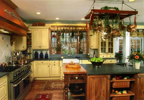 country kitchen cooking country style kitchen design ideas and tips 2766