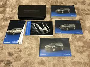 2012 Honda Pilot Owners Manual With Case Oem Free Shipping