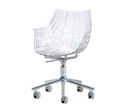 chaise polycarbonate transparente easychair meridiana christophe pillet driade