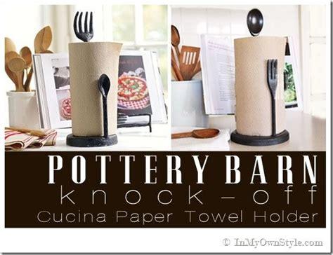 pottery barn knock pottery barn knock paper towel holder the cottage