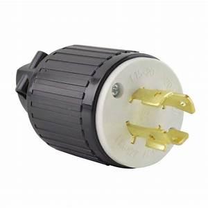 Superior Electric Yga029 Twist Lock Electrical Plug  4p
