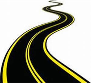 Clip Art of Vector Illustration of winding road k14209886 ...