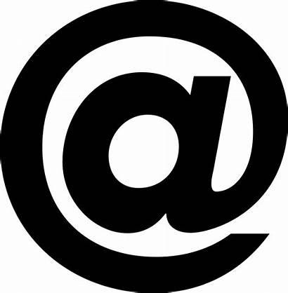 Symbol Clip Chiocciola Clipart Mail Wohnmanufaktur Scrivere