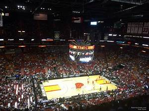 Indiana Pacers Arena Seating Chart Americanairlines Arena Section 310 Miami Heat