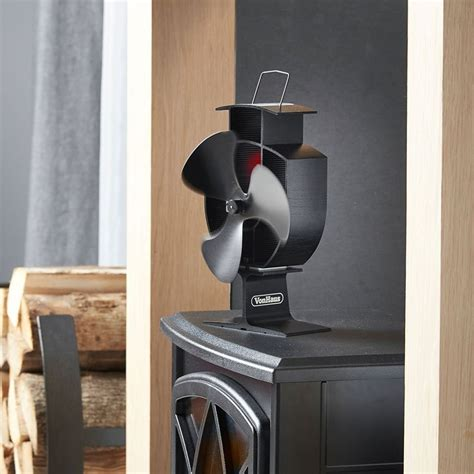 wood stove fans on top of stove heat spreading stove fans stove fan