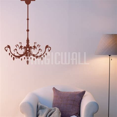 wall decals canada wall stickers ornate chandelier