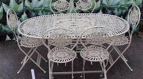 table de jardin en fer forg 233 occasion de conception de maison