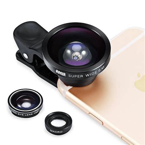 cell phone lens 68 amir 3 in 1 cell phone lens kit deal