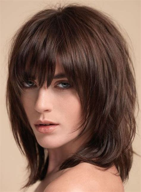 ideas  medium shag hairstyles  pinterest