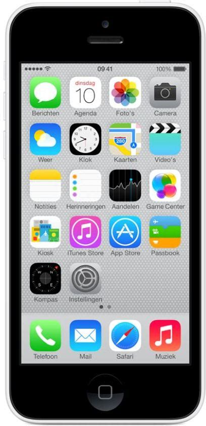 how big is an iphone 5c bol apple iphone 5c 8gb wit 2279